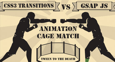 CSS Animations vs GSAP: Cage Match