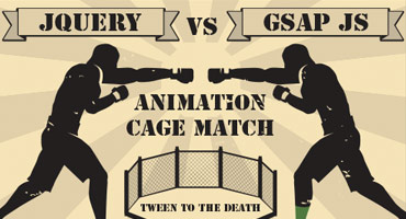 jQuery vs GSAP: Cage Match