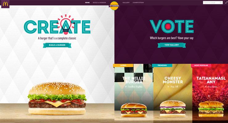McDonald's: Build A Burger