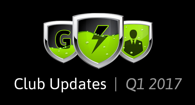 Club GreenSock Updates, Q1 2017