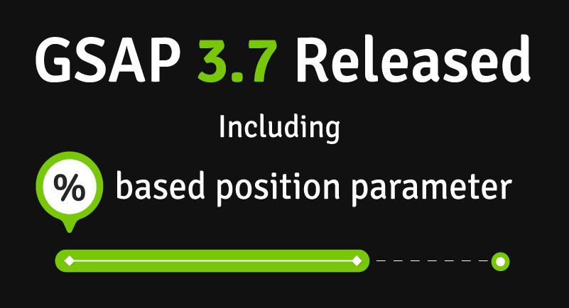 GSAP 3.7 Released